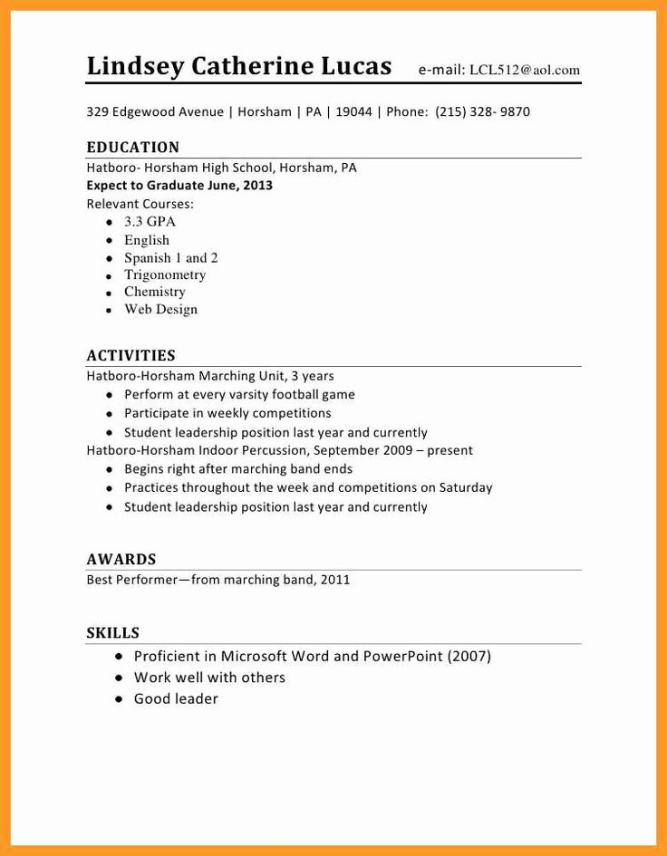 first job resume template lovely 12 13 resume sample for
