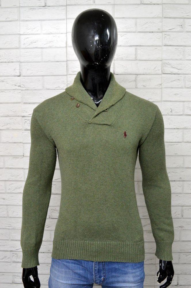 Pullover Uomo L Su Ralph Size Lauren Dettagli Shirt Taglia Maglione nqI881