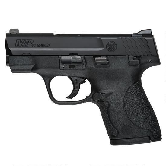 "S&W M&P Shield Semi Automatic Pistol .40 S&W 3.1"" Barrel 6 Rounds Polymer Frame Black Finish"