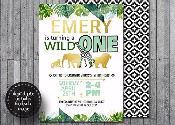 Wild One Animal Boho Print