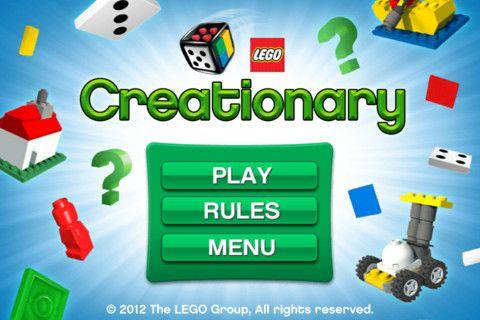 Lego Creationary- Free!