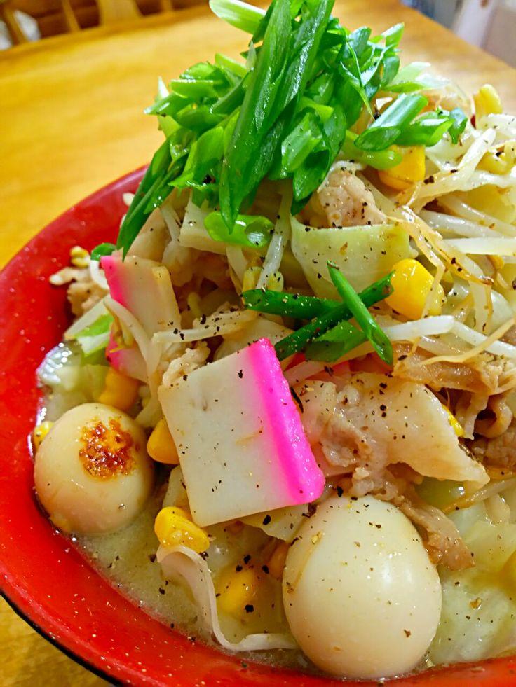 徳之島トトロンヌ's dish photo 自家製豚骨スープで野菜たっぷりちゃんぽん   http://snapdish.co #SnapDish #レシピ #ラーメン #長崎の料理