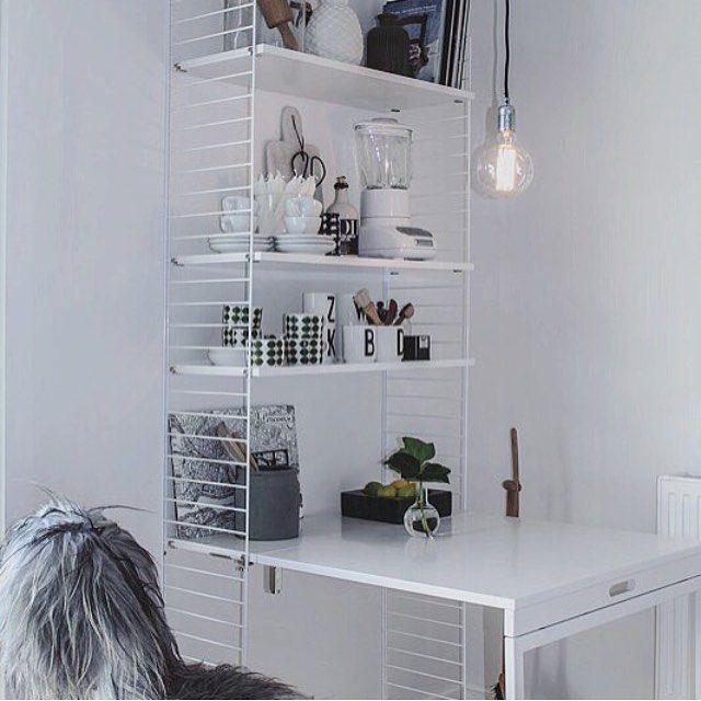 """Gefällt 452 Mal, 5 Kommentare - String Furniture AB (@stringfurniture) auf Instagram: """"#stringshelfie of the day by @houseno31…"""""""