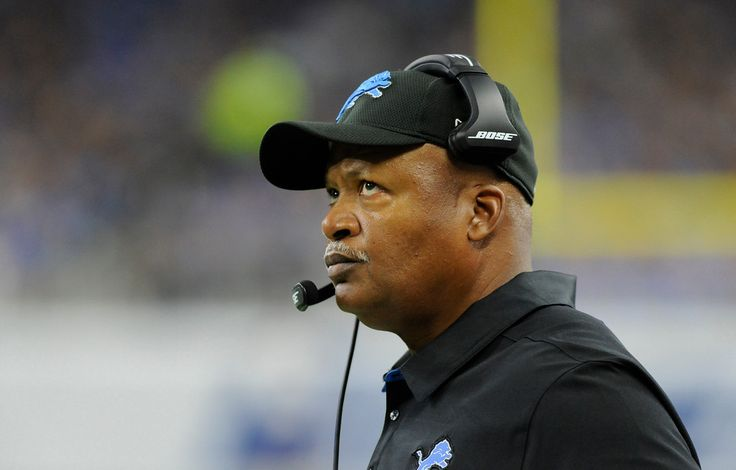 Detroit Lions head coach Jim Caldwell watches from the sidelines during the first half of an NFL football game against the Tennessee Titans, Sunday, Sept. 18, 2016, in Detroit. (AP Photo/Jose Juarez)