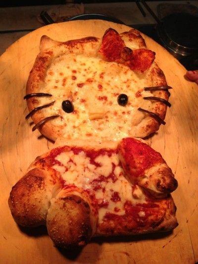 hello kitty pizza full body