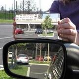 """Matemático estadounidense crea espejo retrovisor que elimina el """"ángulo muerto"""""""