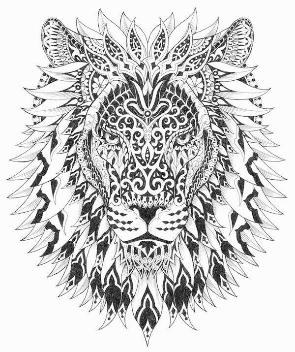 color therapy coloring pages lion king | 31 best lions images on Pinterest | Print coloring pages ...