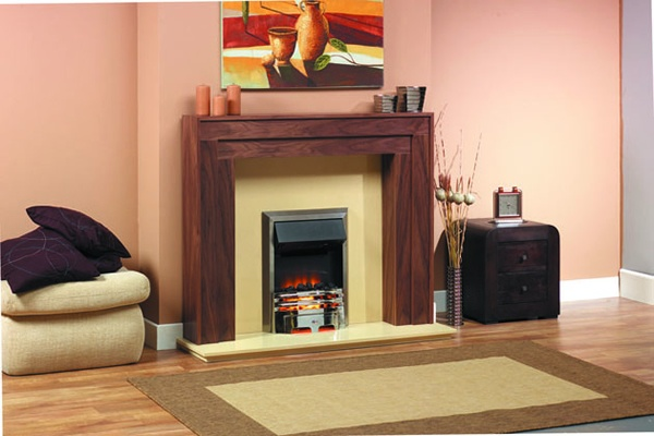 Stratton contemporary fireplace