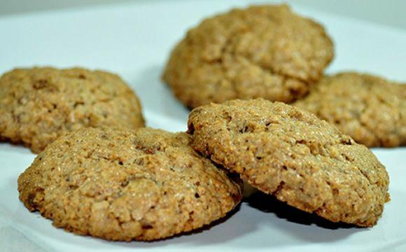 Receita de biscoito de farelos para a fase ataque dukan.