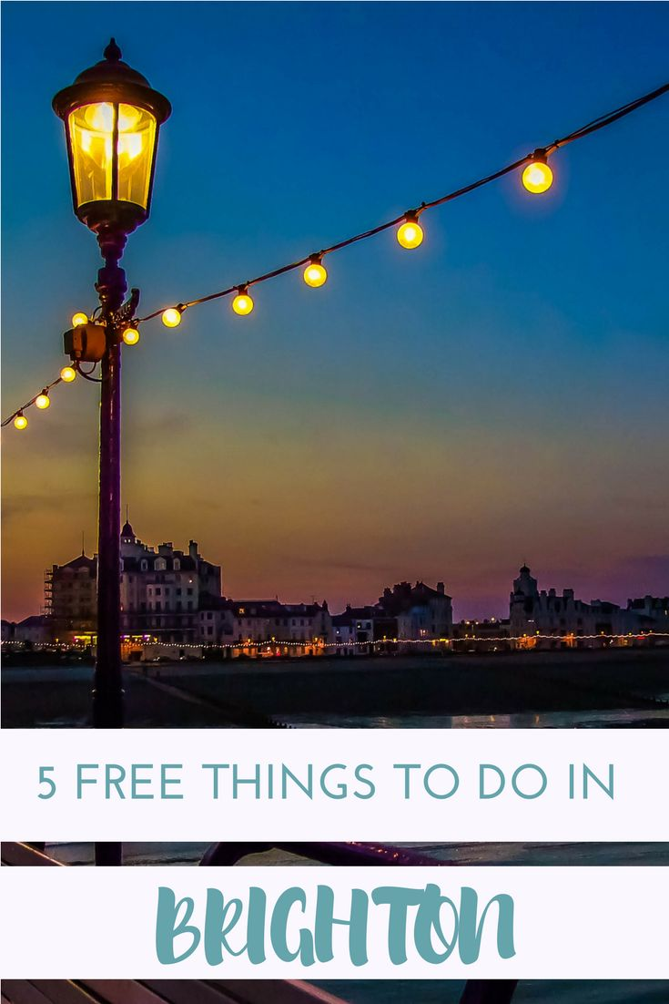 5 Free Things To Do In Brighton http://theminimillionaire.com/spend-money/travel/destinations/uk/5-free-things-to-do-in-brighton/?utm_campaign=coschedule&utm_source=pinterest&utm_medium=Cora%20Harrison%20-%20Financial%20and%20Location%20Independence&utm_content=5%20Free%20Things%20To%20Do%20In%20Brighton