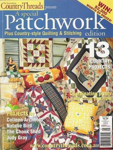 Patchwork Country Threads vol.4-Nº11 - Sandra Vinivikas Artesanatos - Picasa Web Albums...