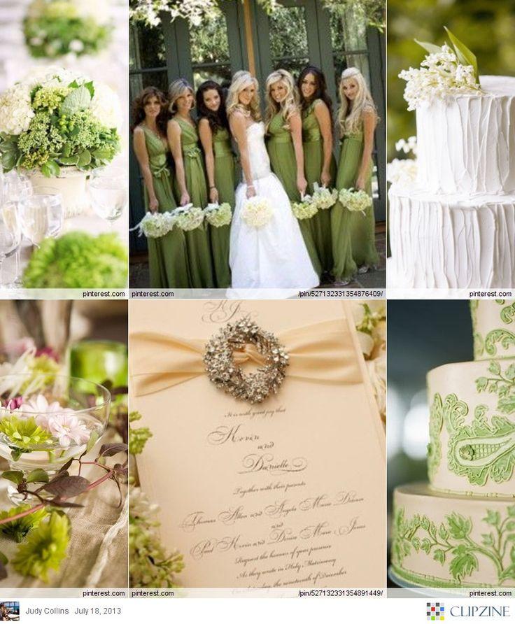 17 Best Ideas About Wedding Planner Book On Pinterest: 17 Best Ideas About Olive Green Weddings On Pinterest