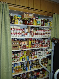 Prepared LDS Family: Pictures of Food Storage Shelves, Pantries and Rooms