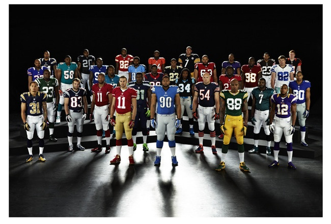 NFL revealed its new uniforms and accessories from Nike