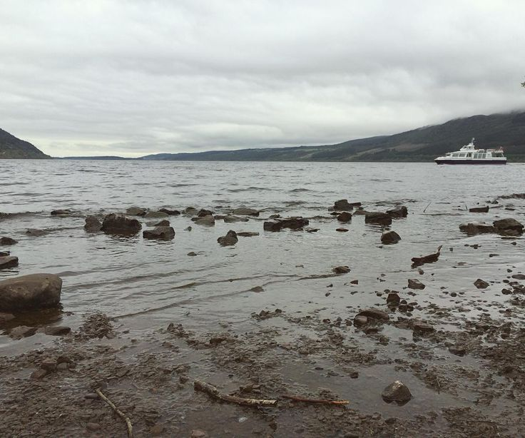 Loch Ness in Inverness, Scotland, UK