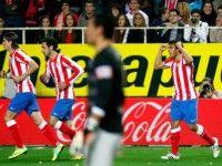 Partido de la 26ª jornada de liga disputado entre el Sevilla y el Atlético de Madrid con el resultado de empate a 1.