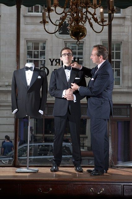 Black-tie guide with Savile Row's Henry Poole - GQ.co.uk