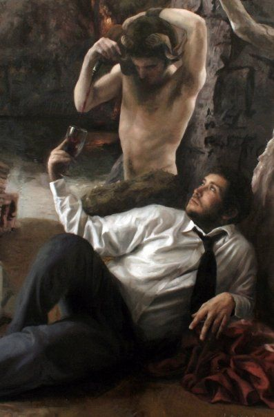 Guillermo Lorca Garcia Huidobro | Detail painting