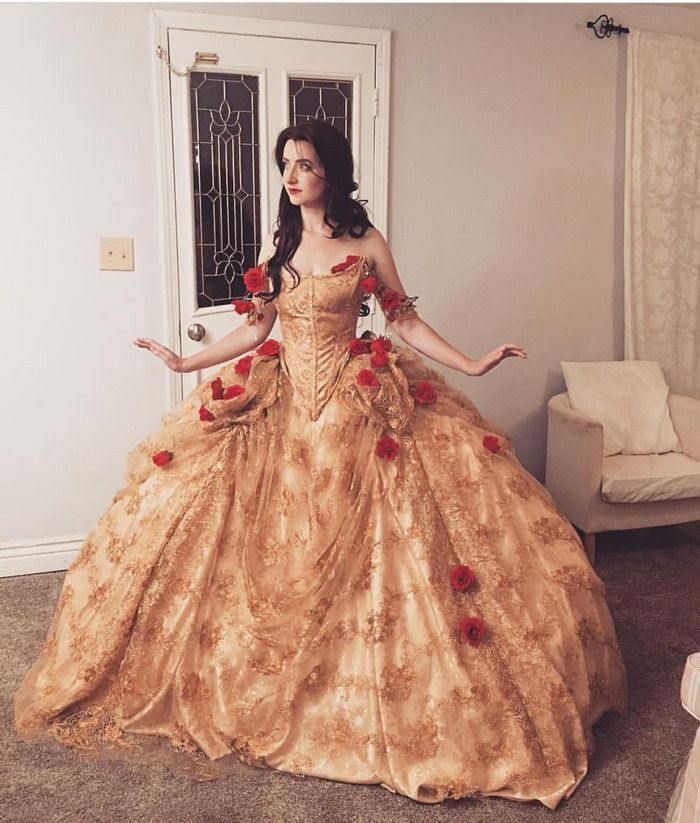 Many of you reading this will have grown up watching Disney movies admiring the princess dresses. Well, here we introduce the work of Nephi Garcia who is making dreams everywhere come true. The 32 year old California based designer and dad has an incredible talent for making the most beautiful Disney inspired dresses. A must see!