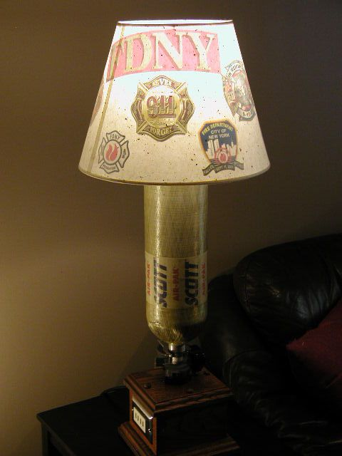 17 Best Firefighter Lamp Shades Fdny Images On Pinterest