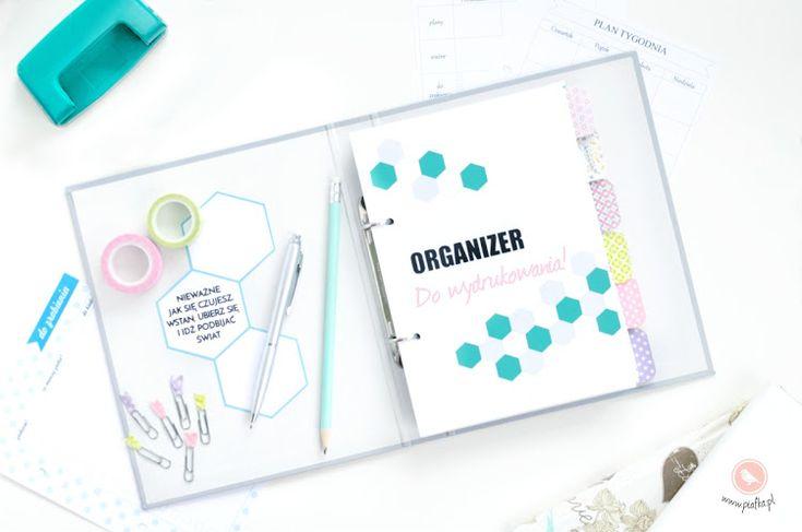 Chcesz się dobrze zorganizować? Wiecznie brakuje Ci czasu? Wydrukuj ten darmowy planer i zapanuj nad swoim dniem!