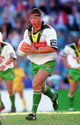 THE GREATS: One of the Canberra Raiders greatest second rowers, David Furner.