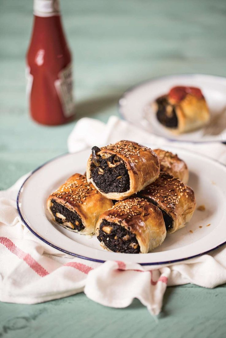 Black pudding and apple sausage rolls by Gillian, Nichola & Linsey Reith from Three Sisters Bake | Cooked