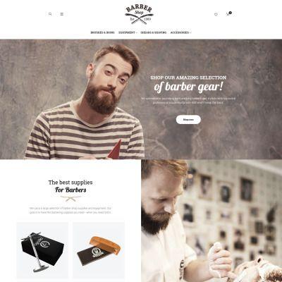 BarberShop - Barber Equipment Responsive Responsive Magento Theme