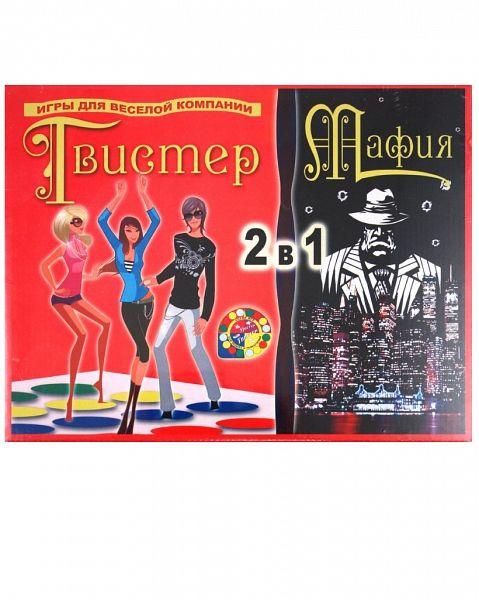 Игра 2 в 1 Твистер и Мафия RN Toys купить в Москве и Санкт-Петербурге - интернет-магазин детских товаров BABADU