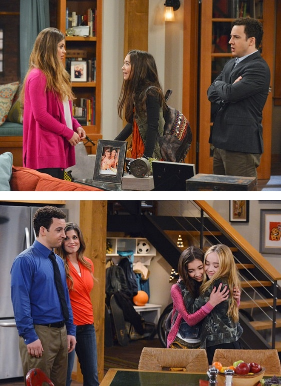 First photos from Girl Meets World...Please Disney, don't let this suck. Don't turn it into the type of show you have out today. just this one thing, For me? (Boy Meets World Sequel)