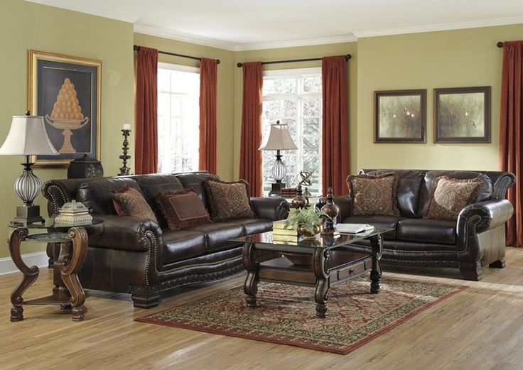 Remarkable Leather Sofa Sets For Living Room .