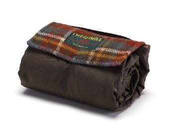 Tweedmill Pure New Wool Walker Companion Antique Royal Brown Picnic Rugs Textiles Of