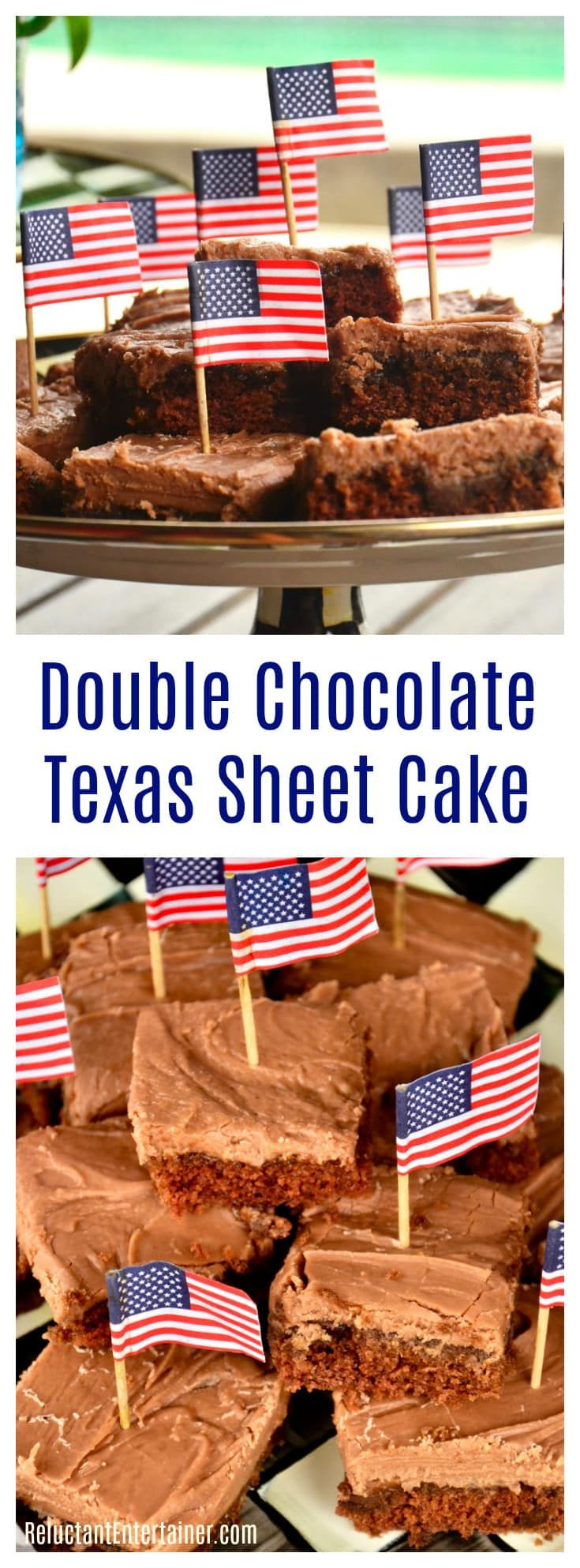 Double Chocolate Texas Sheet Cake