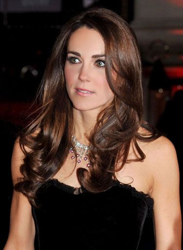 """Perfect Blowout  As seen on: Kate Middleton    How to: """"What's not to love about Kate Middleton's uber-shiny blowout? This is the kind of light-reflection that only happens if you're using an ionic dryer paired with a high-tech shine spray,"""" explains beauty director, Alexandra Parnass."""