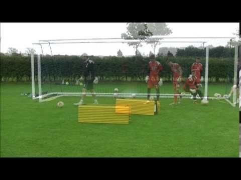 Walsall FC Goalkeeper Training 28 8 14