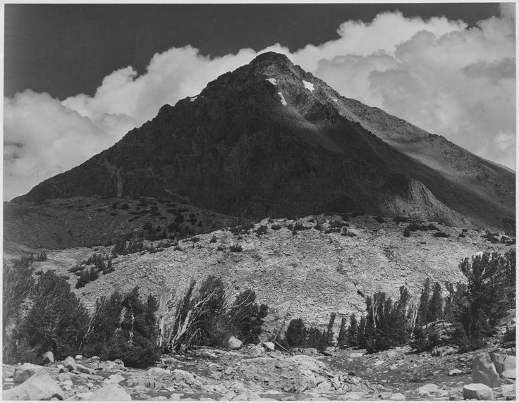 Mt. Wynne, Kings River Canyon, California by Ansel Adams