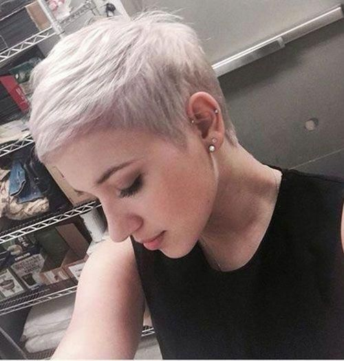 Very Short Haircut for Women #shortpixiehairstyles – Hairstyles For Kids