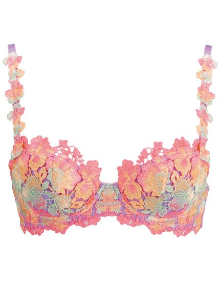 Multicolor lace bra-perfect for spring