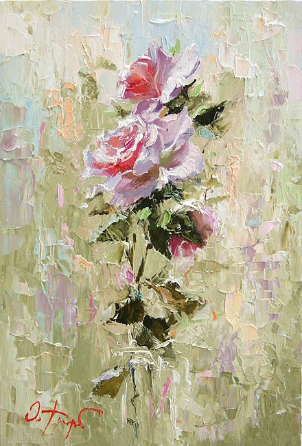 Oleg Trofimov... Romantic roses. TG