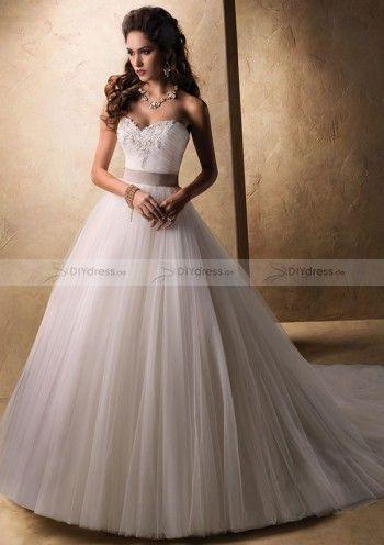 Prinzessin schöne Brautkleid Hochzeitskleid Lace& Tulle Wedding Dress Bride Dress