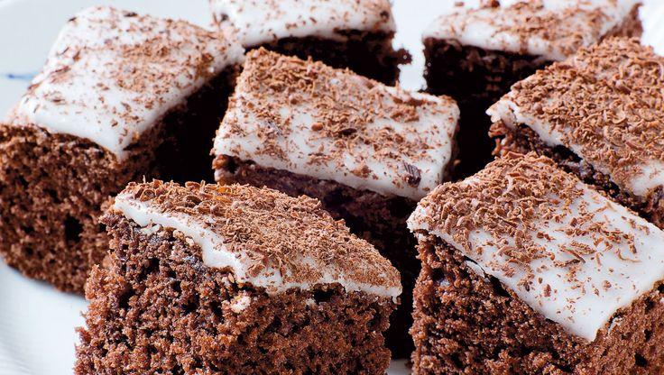 En klassisk chokoladekage som smager himmelsk