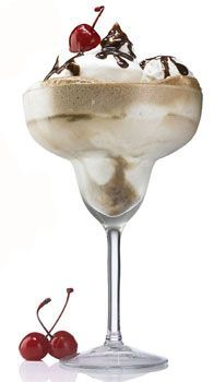 Making this tonight! *2 scoops vanilla ice cream *1 1/2 oz. Patron XO Cafe *Coca-Cola *Whipped Cream *Cherry