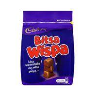 HURRAH! 50 chocolate treats all under 200 calories!!  Check out these tasty Cadburys Bitsa Wispas...