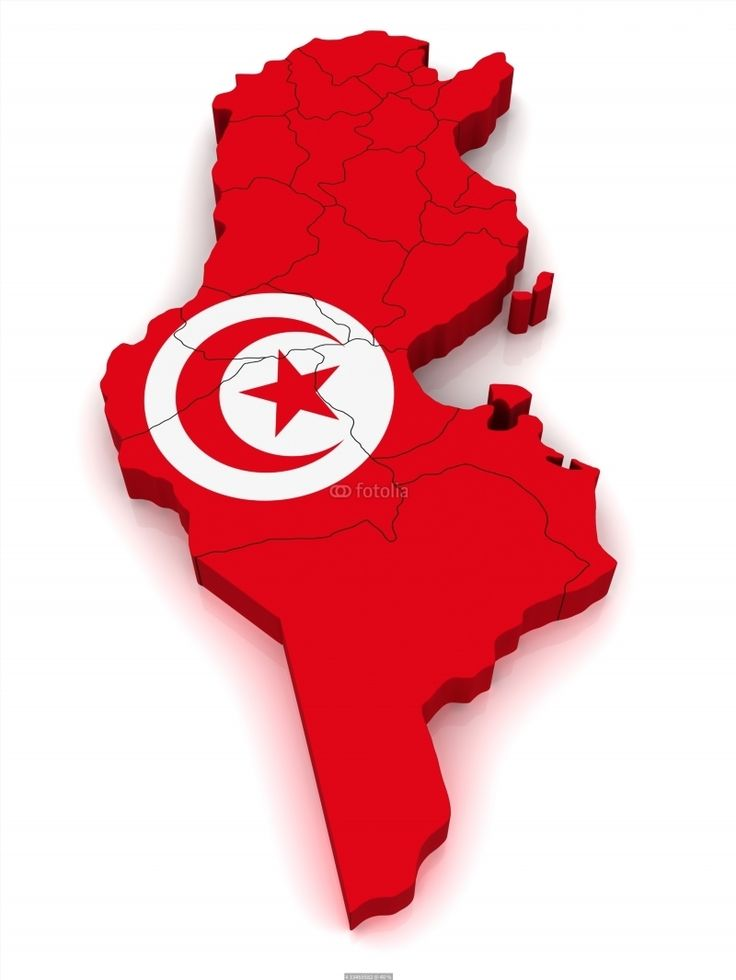 Colombia On World Map%0A  D Map of Tunisia poster