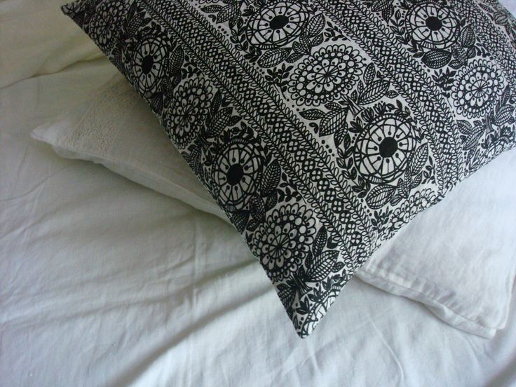 Floral linen pillowcase stonewashed linen pillowcase shabby chic linen bed set  by LUXOTEKS by Luxoteks on Etsy