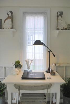 sunroom office...love it!