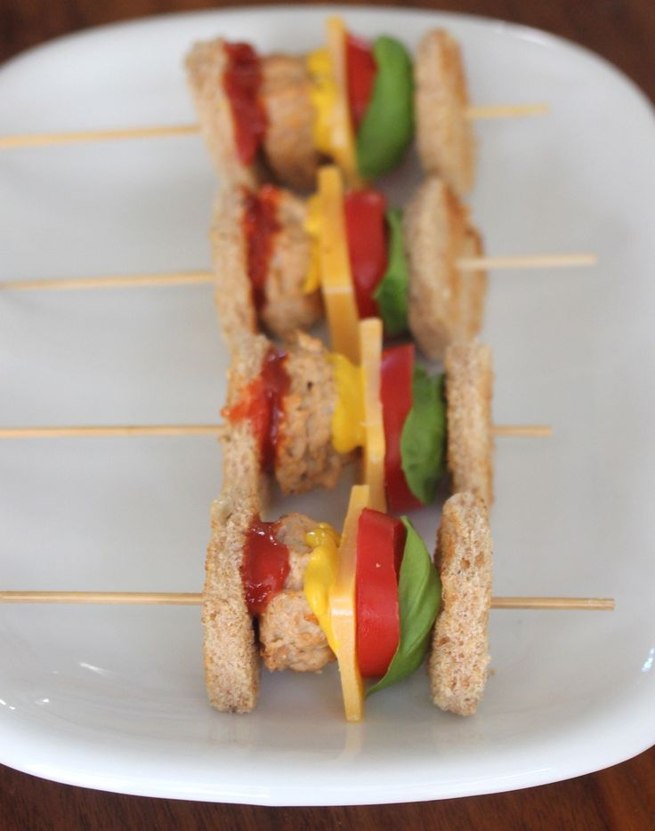 Try this super fun extra tiny burger bite appetizer for your next party.
