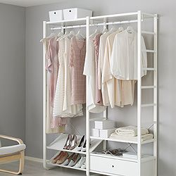 17 best ideas about clothes storage systems on pinterest storage systems clothes storage and - Porta abiti ikea ...