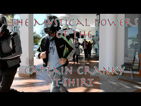 The Mystical Powers Of The Captain Cranky T-Shirt - YouTube