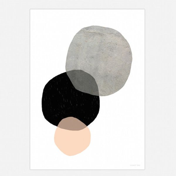 Beautiful texture and simplicity - our very popular Circles.Size 50cm x 70cm - Printed on 170gsm FSC Eco paper with vegetable inks for a long lasting print.(Frame not supplied).By Seventy Tree #decor #skandi #print #minimalist